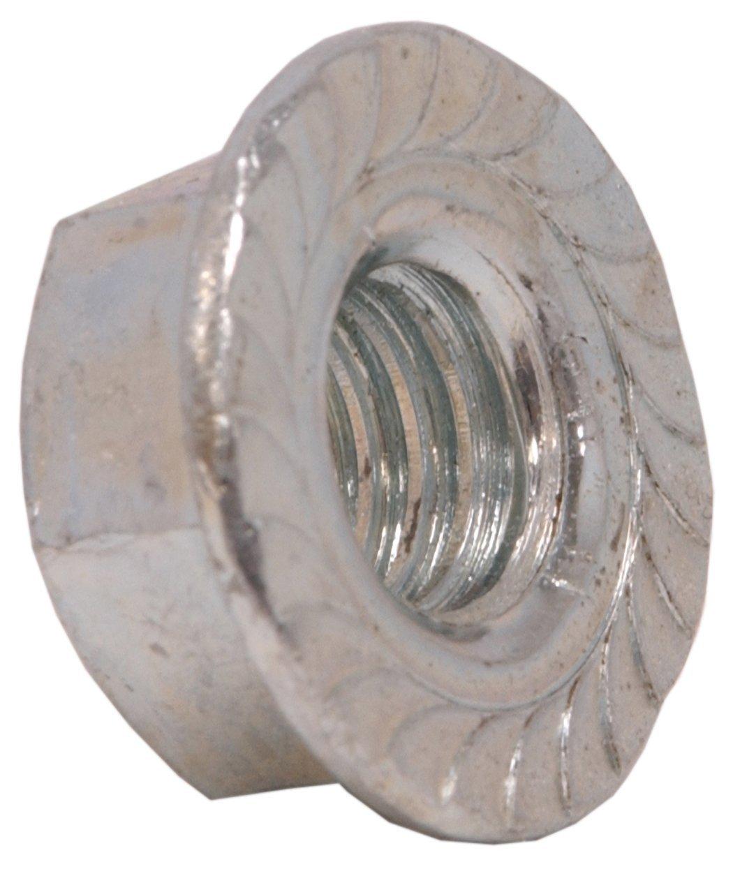 25 Pcs 5//16-18 Grade 8 All Metal Flange Lock Nut//Wiz Nuts 5//16 x 18