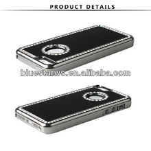 Frame Black Aluminum Back Plate Faceplate Protector Bumper Case Cover for For iPhone 5C