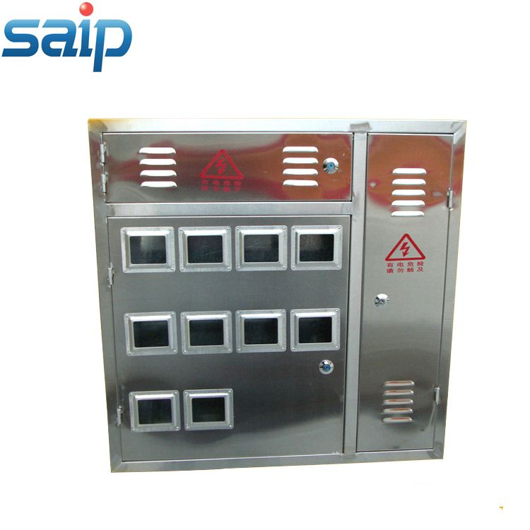 Single Phase Stainless steel three phase electric meter cabinet