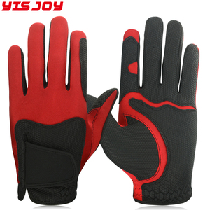 Customized Logo Premium quality PU lightweight breathable left hand Golf Gloves factory