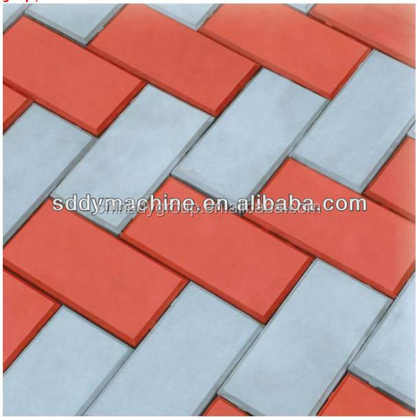 namibia paver for garden / interlocking brick machine with mould