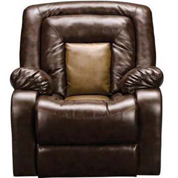 Heated Furniture Room Leather Multi Position Recliner Sofa Chair