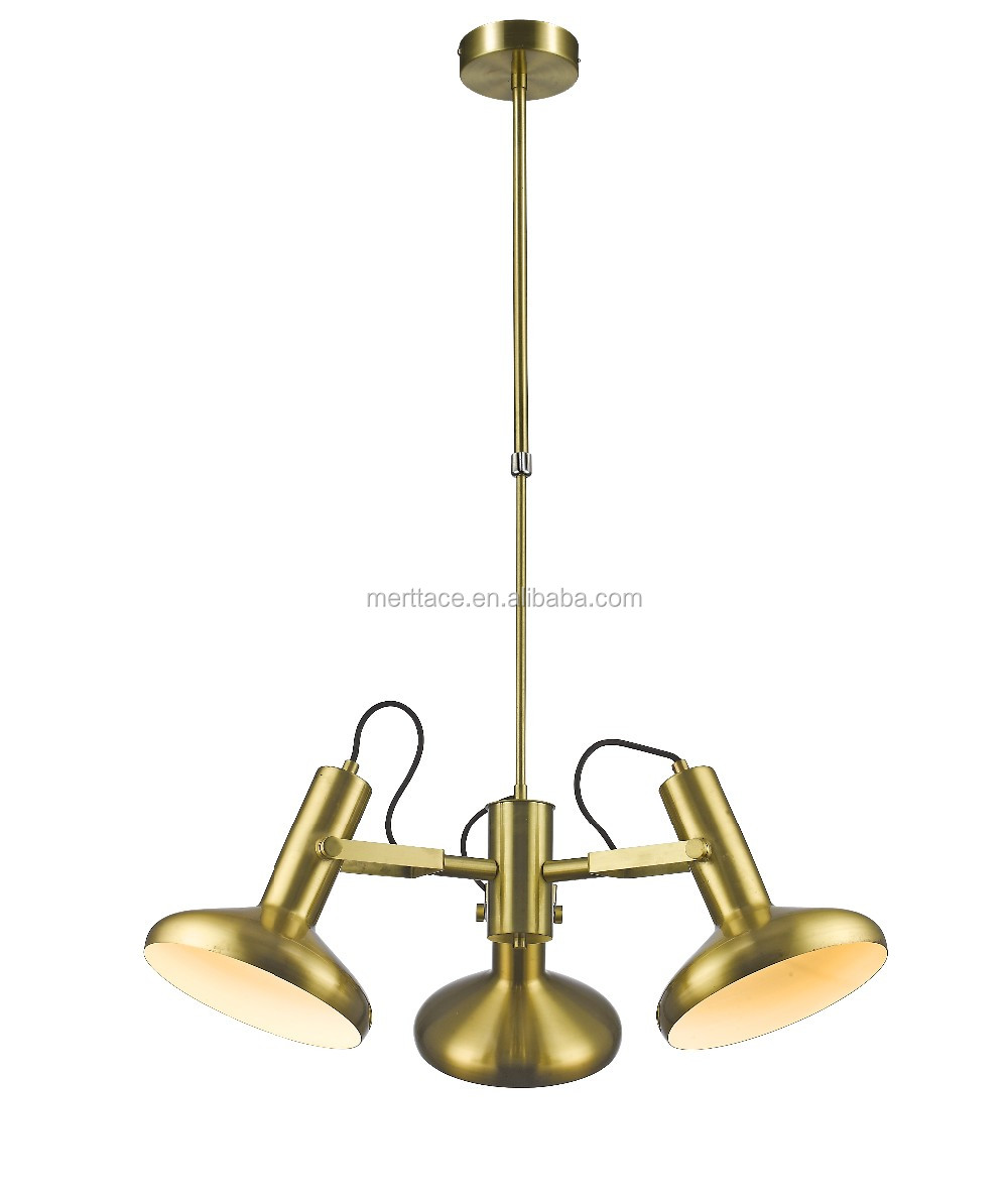 Sandy Gold Hanging Lamps Living