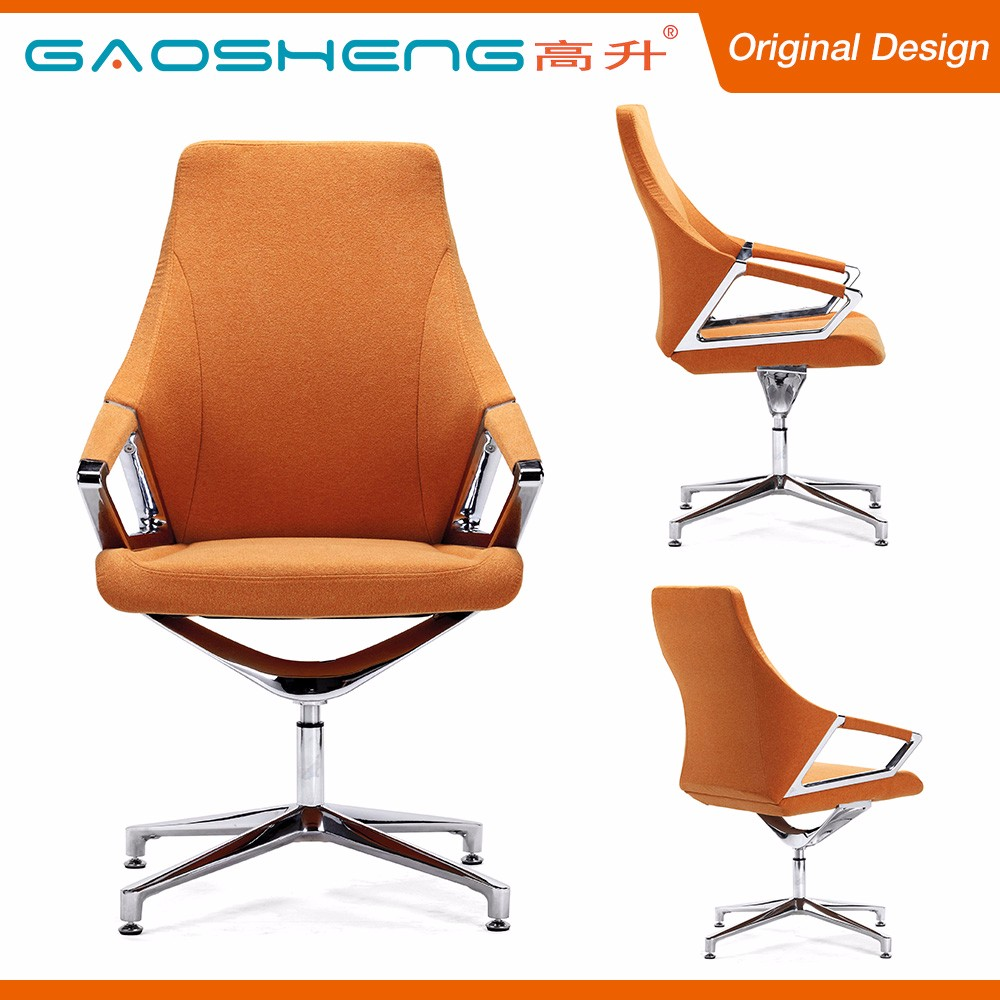GS-G1902D swivel office chair no wheels
