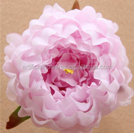 New Arrival Colorful Silk Large Artificial <strong>Flower</strong> Heads Wholesale