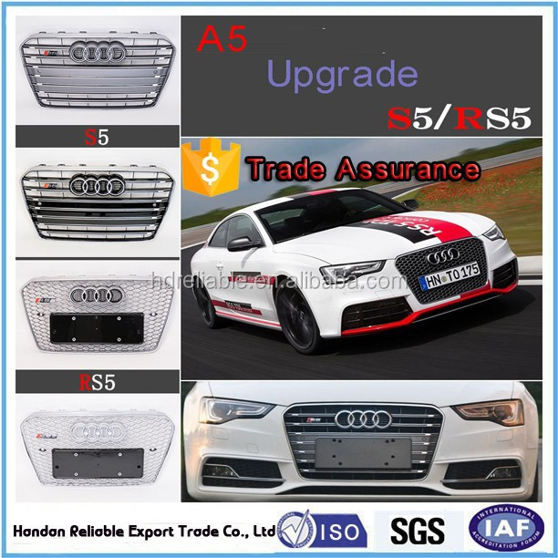 2011 Audi Rs5 For Sale: 2011-2015 Grelha Cromada Para Audi A5 S5 RS5 Rs5 Grade