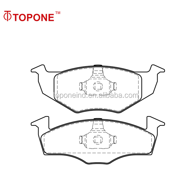 Car Composite No Noise Brake Pad Wholesales For SKODA Parts FDB1101 GDB1274