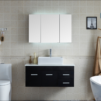 Hanging Bathroom Cabinet Laundry Basin Combination Green Environment Protection