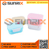 Plastic Double Layer Lunch Box