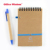 China supplier good sale custom cover full color printing paper a5 Bound notebook