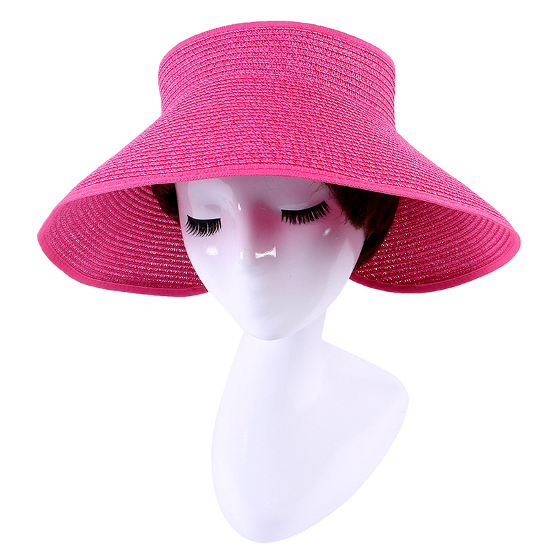 129029be07c4d Topless Straw Hat