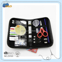 D&D Wholesale Sewing Supplies Newest design hand tool Set Tooling high quality sewing kit with pill box knigtting Needle