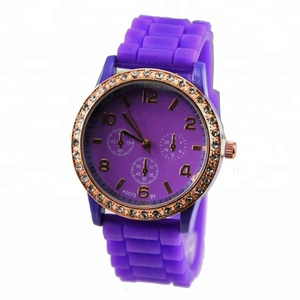 vintage watch Jelly Silicone Women Watches
