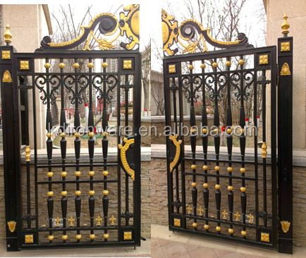 Beautiful Decorative Wrought Iron Fancy Gates 60343287287 on home door design catalog