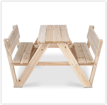Excellent Furniture Wooden Garden Bench Childrens Patio Play Kids Outdoor Table Set Picnic Buy Kids Folding Picnic Table Kids Plastic Picnic Tables Outdoor Dailytribune Chair Design For Home Dailytribuneorg