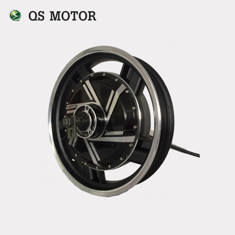 16inch 2kW 273 28H V3 Brushless DC Electric Scooter Hub Motor
