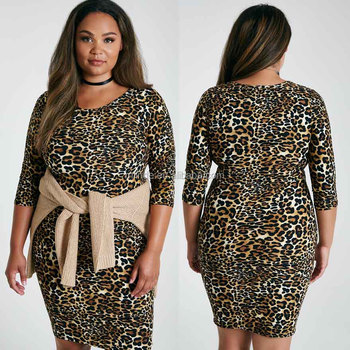 Plus Size Xxxl Xxxxl Women Clothing Soft 34 Sleeves Scoop Neck