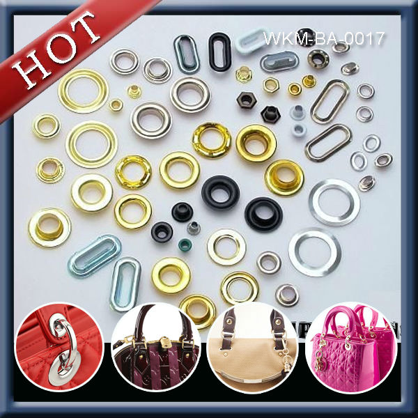 Round Aluminum Eyelets Use in Scrapbooks Cards and shoe lace eyelet