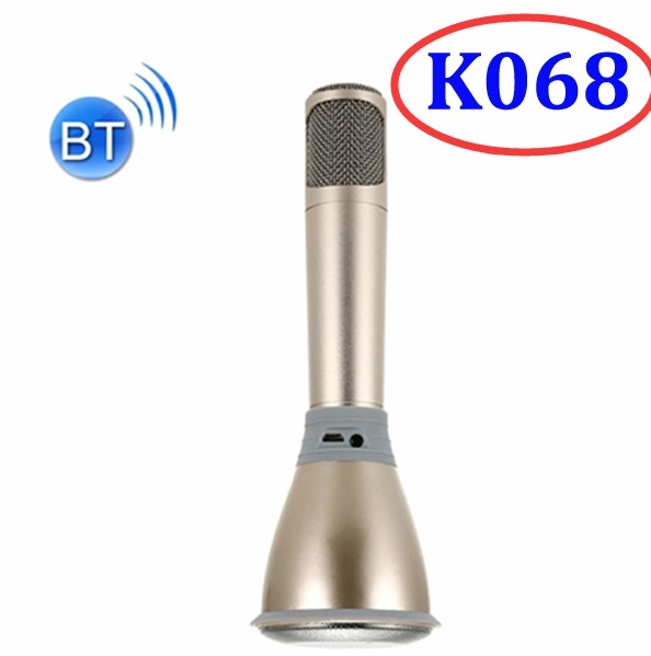 K068 KTV Player Speaker Wireless Bluetooth Karaoke Microphone