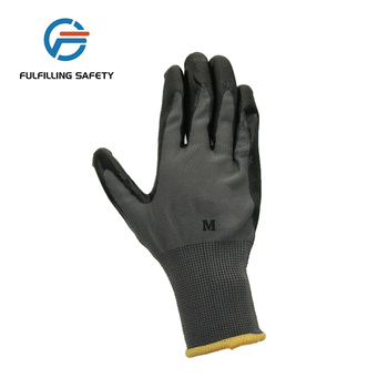 wholesale colorful rubberex sandy long cuff full coat nitrile coated glove