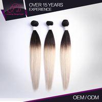 Best Quality Tangle Free Dark Auburn Human Hair Extensions Straight