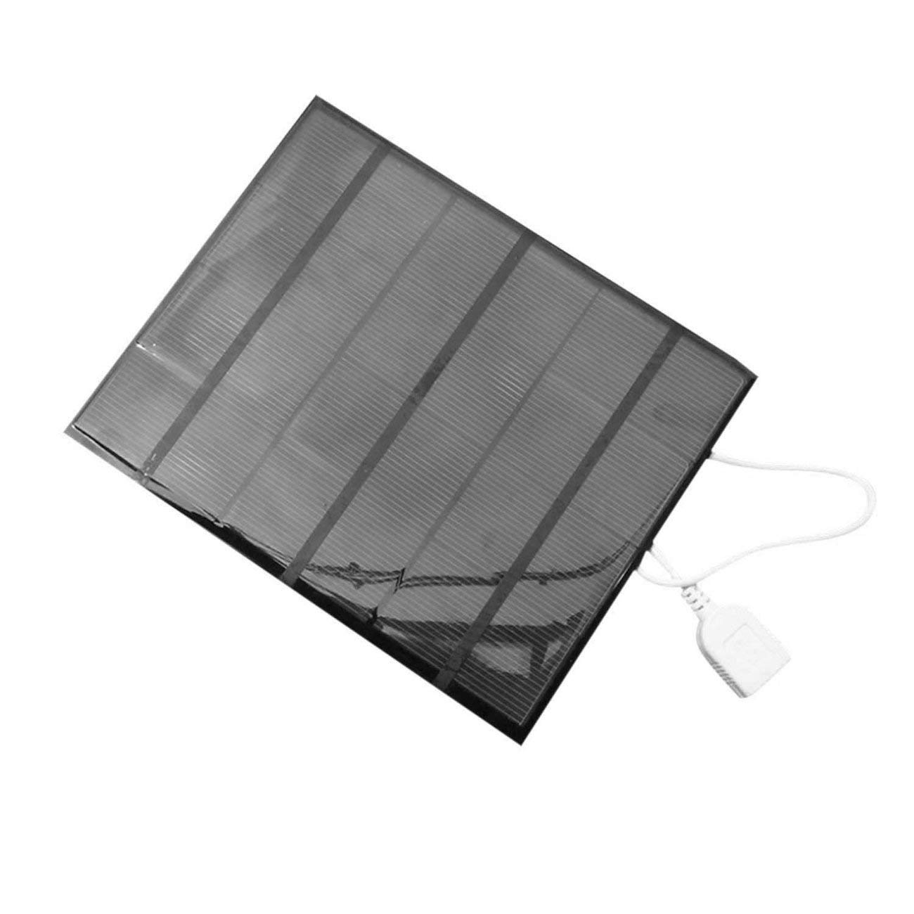 3.5W Solar Panel Power Bank External Battery Charger for Mobile Phone Tablet