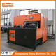 YC-2L-4 semi auto extrusion blow molding machine with liquid lever line 2L made in China