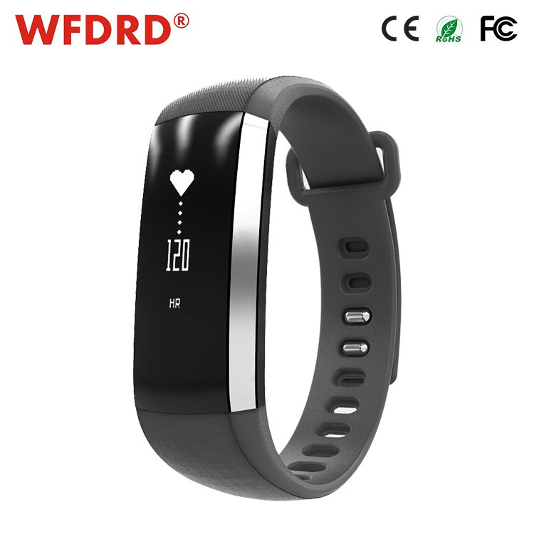 2017 intelligent for fitbit band ROHS m2 blood pressure control bracelet with fitness tracker