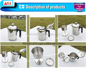 Personalized portable without electric cordless turkish coffee maker