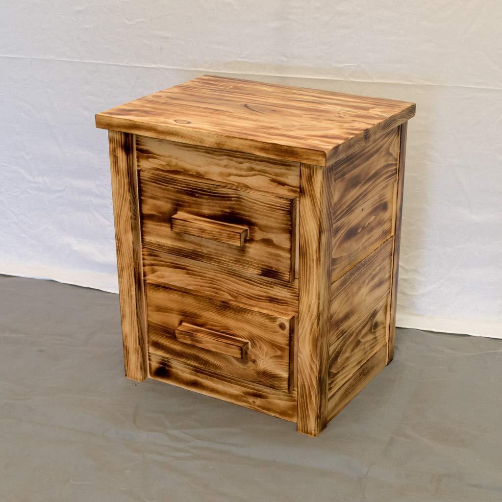 Torched Farmhouse 2 Drawer Dresser/Wood Reclaimed Dresser/Modern / Urban/Cottage Dresser