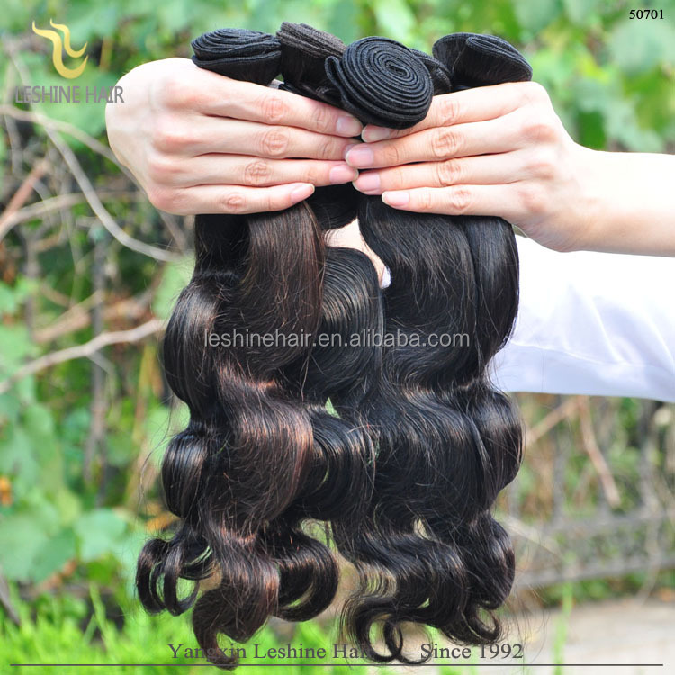 Wholesale Top Quality Human Hair Weft No Shedding No Tangle Hair Raw Hair