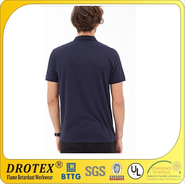100% cotton Flame Retardant&fireproof Workwear Polo T Shirt