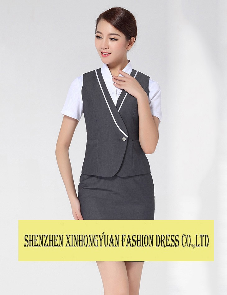 China southern airlines 2014 fashion airline stewardess uniforms airline hostess uniform
