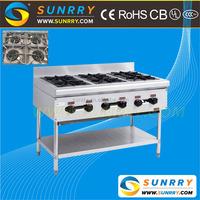Best Quality 6 Burner Gas Burner Range Waste Oil Burner Made Of Stainless Steel (SUNRRY SY-GB36F)