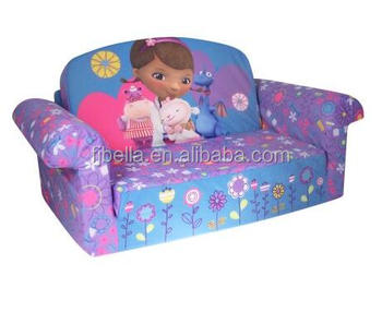 Multicolor Kids Flip Out Foam Sofa