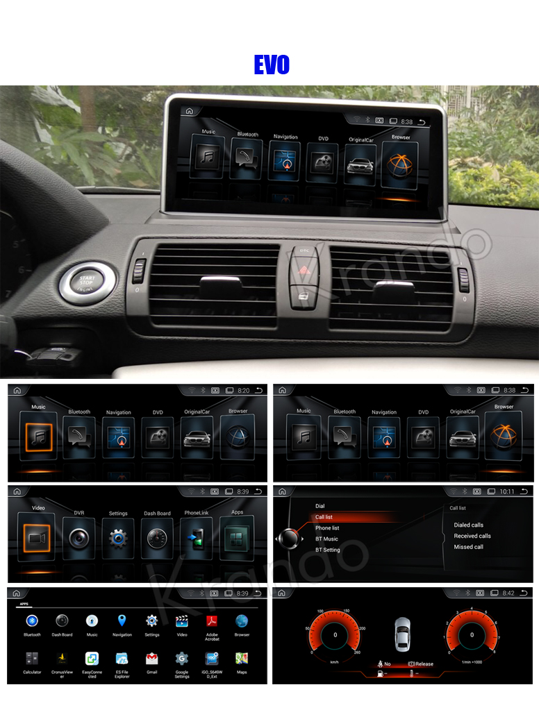 Car navigation for BMW 1 series
