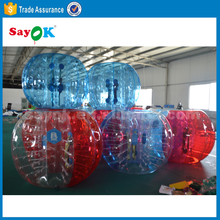 Giant Cheap Outdoor Play Loopy Knock Soccer Bouncing Ball Inflatable Bubble Ball