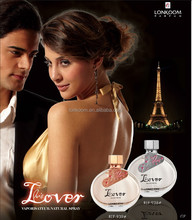 Paris Lover Branded high quality natural spray French perfume