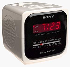 Buy Sony ICFC121 AM/FM Dream Machine Clock Radio ...