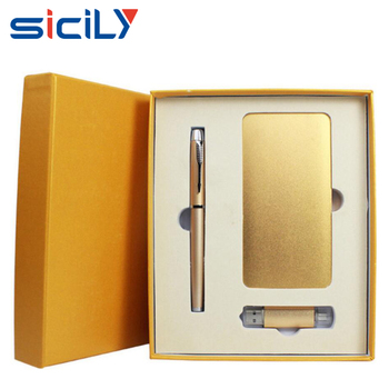 Unique Gift Ideas Golden Corporate Gifts Set Business With Bank