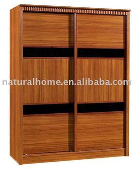 Wooden Solid Cheap China Guangdong Wardrobe Closet (KT TF86916)