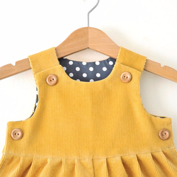 010b7a438 Names for muslim girls photos baby girl yellow corduroy romper baby winter  warming clothes