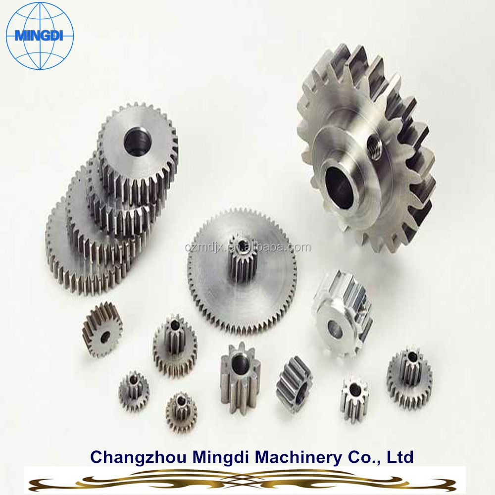Mingdi Brand Customized Hardened Small Spur Gear / Spur wheel