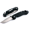 5cr13 stainless steel pocket knife outdoor camping knife with knife clip and belt cutter