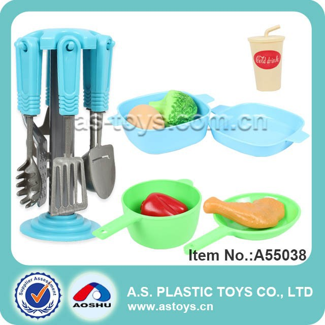 Kitchen Play Set Kitchenware Kids Cutlery Set Happy at Home toys