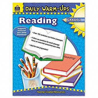 Teacher Created Resources Products - Teacher Created Resources - Daily Warm-Ups: Reading, Grade 2, Paperback, 176 Pages - Sold As 1 Each - Quick, easy and effective activites that help students improve the skills that they need for success in testing. - Warm-ups include both fiction and nonfiction