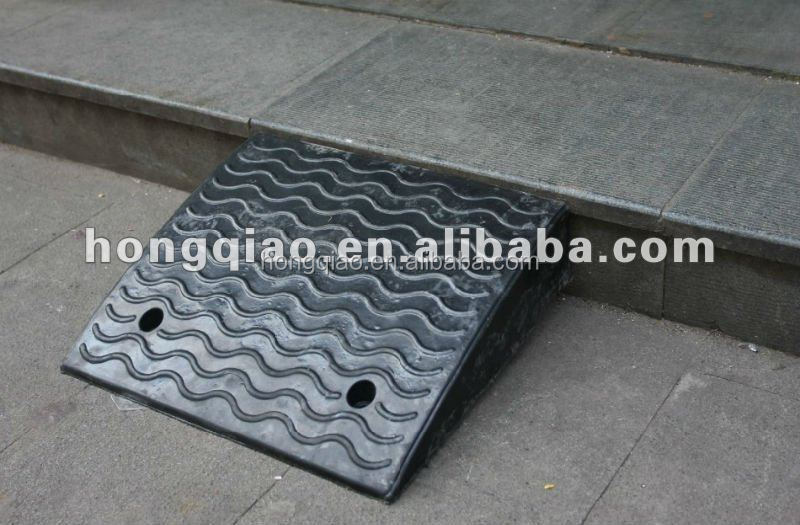 rubber kerb ramp container loading kerb ramps