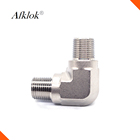 "1/8"" to 3/4"" Compression Fittings 90 Degree Stainless Steel Elbow"