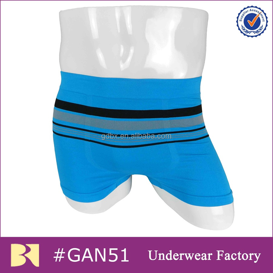 Seamless underwear boxershorts for men
