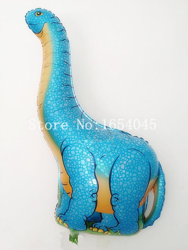 Free Shipping Classic Toys Inflatable Dinosaur Foil Balloons,Party Decoration Balloons,Baby Toys Animal Baloon animals pet